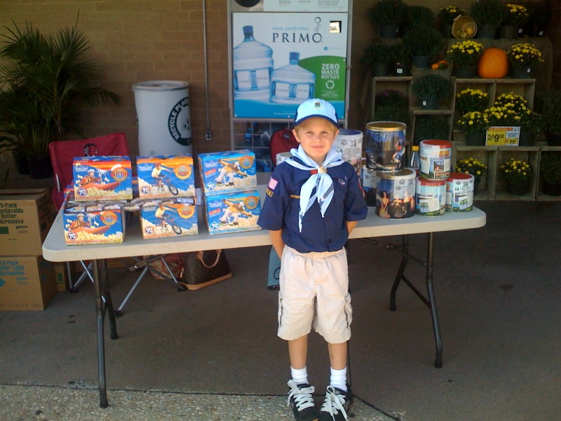 Hayden cub scout pride-popcorn still on sale